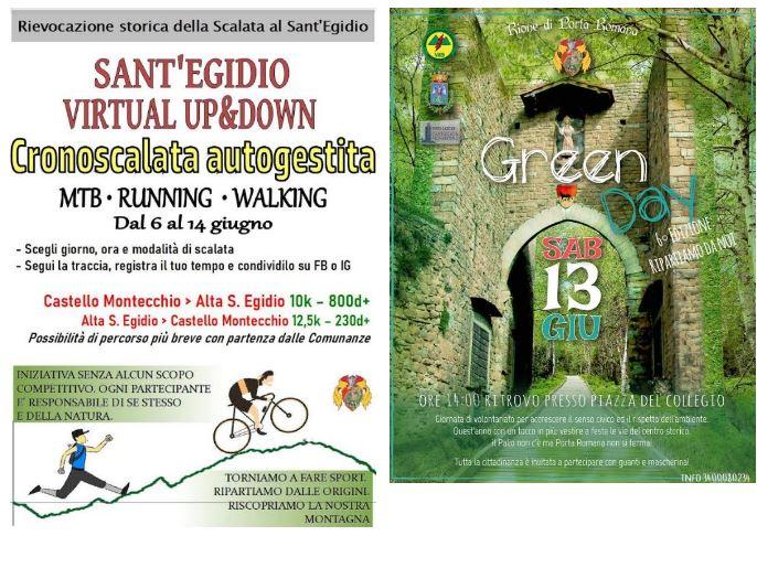 Palio di Castiglion Fiorentino, Rione Porta Romana: Scalata al Sant'Egidio e Green Day, riparte PortaRomana