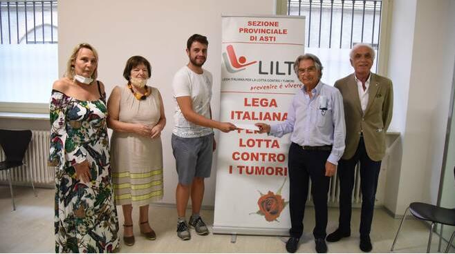 Palio di Asti, Comitato Palio Borgo San Marzanotto: Alla LILT il contributo della 7° edizione della Cena delCavolo
