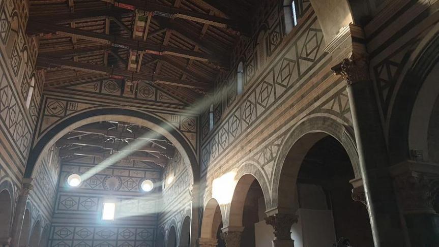 Toscana: Spettacolo solare a San Miniato alMonte