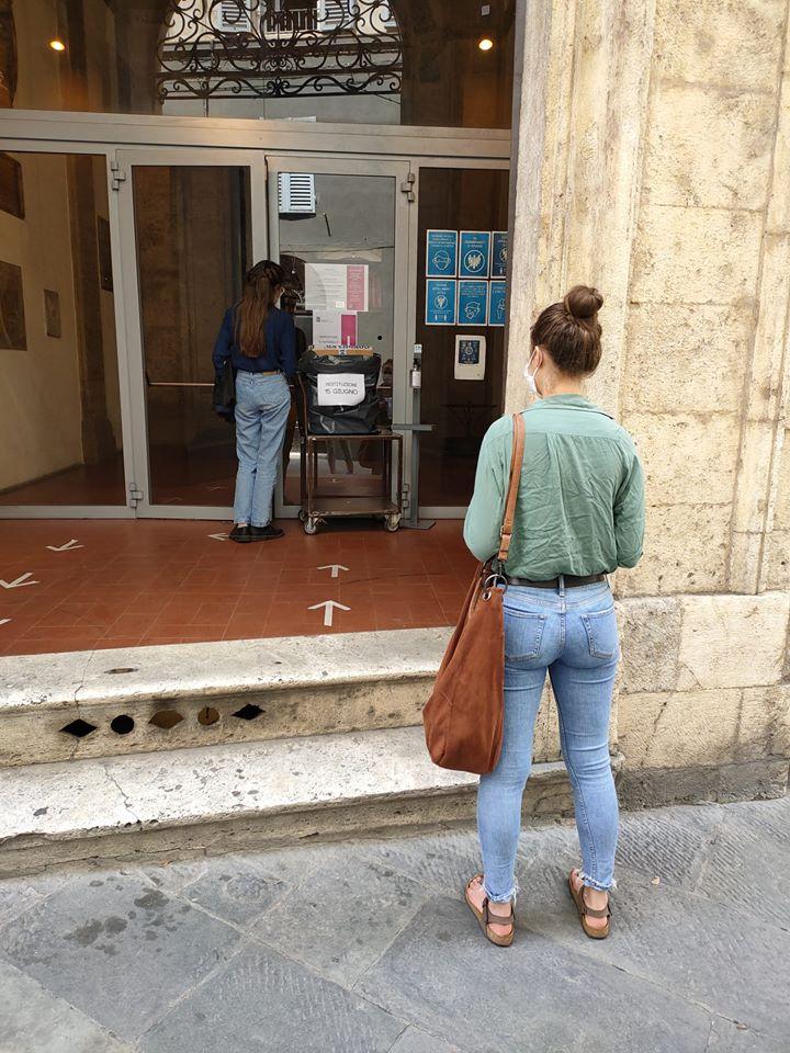 Siena: Oggi 10/07 scatta l'allarme anti incendio alla Biblioteca degliIntronati