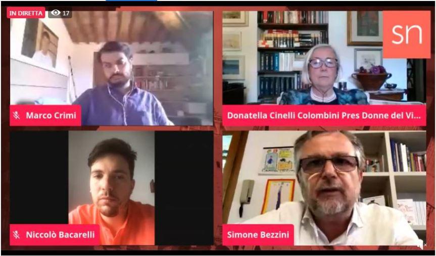 Siena, Siena News: Oggi 11/06 intervista in diretta a Simone Bezzini e Donatella CinelliColombini