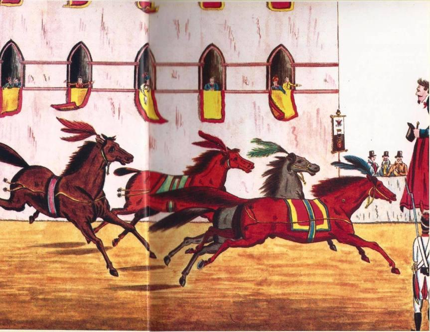 palio di Siena, Accadde oggi, 17 giugno 1310: Il Comune istituzionalizza il Palio alla lunga in onore di Santa MariaAssunta