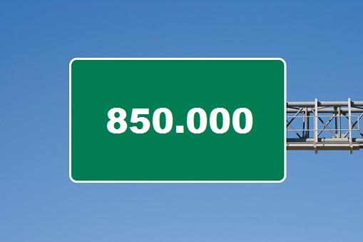 Massi Lo Sà: Nuovo Record del Blog, raggiunta quota 850.000visite!!