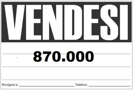 Massi Lo Sà: Nuovo Record del Blog, raggiunta quota 870.000visite!!