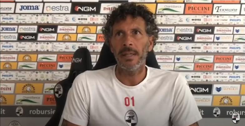 """Siena, Robur Siena, Mister Dal Canto: """"Dobbiamo fare quello che siamo abituati a fare, dobbiamo giocare con sanguefreddo"""""""