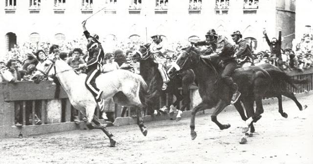 Palio di Siena, Accade oggi, 04/07/1979: Alla Civetta il Palio dedicato a CeccoAngiolieri