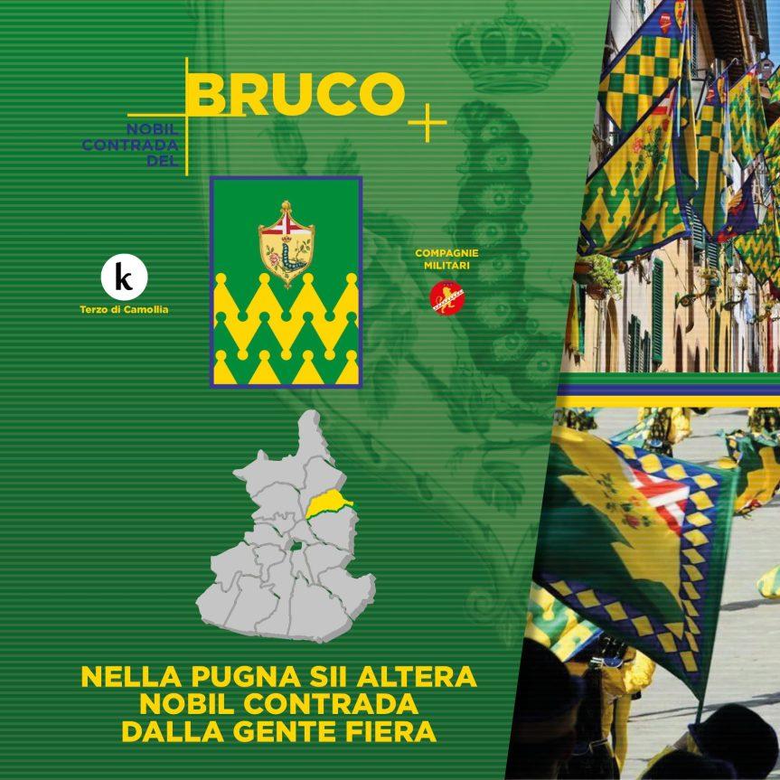 Siena, Contrada del Bruco: 03/07 Programma FestaTitolare