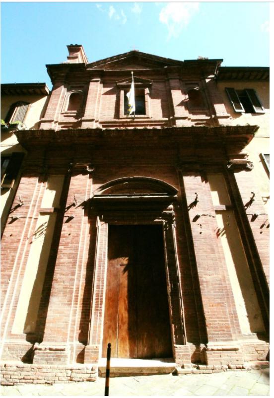 Siena, Accadde oggi, 13/07/1664: L'oratorio della Tartuca e la casa della venerabile CaterinaVannini