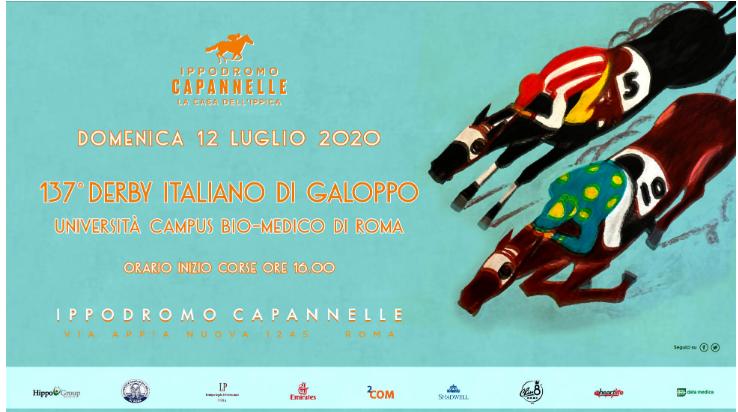 Ippica, Capannelle: Derby Italiano, ecco la presentazione ed il libretto in PDF scaricabile da stampare e consultare indigitale