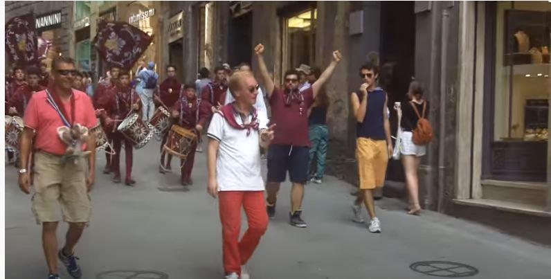 Palio di Siena, Contrada della Torre: Il Giro della Vittoria della Contrada della Torre, 3 luglio2015