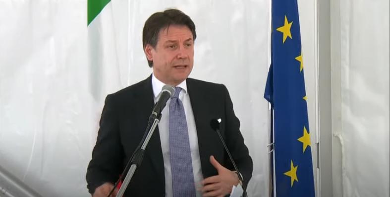 Italia: Conte alla cerimonia di innalzamento delle paratoie delMose