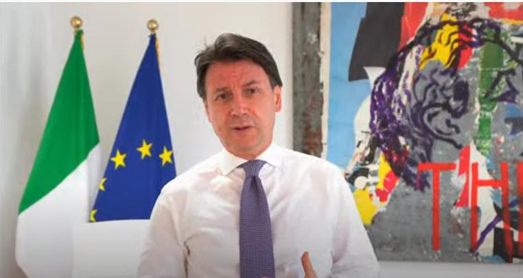 Italia: Consiglio europeo straordinario, dichiarazione del Presidente Conte(18/07/2020)