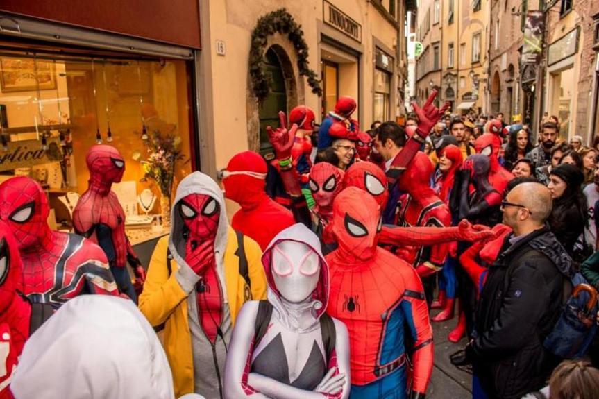 Toscana: Il Covid non ferma il LuccaComics