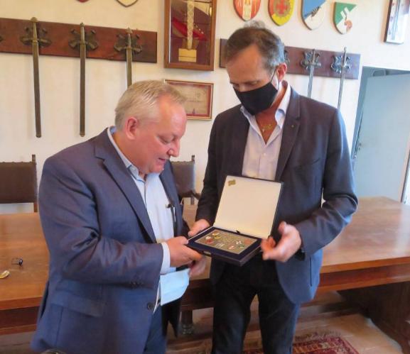 """Palio di Legnano, L'assessore regionale Bruno Galli al Museo del Castello: """"Un patrimonio datutelare"""""""