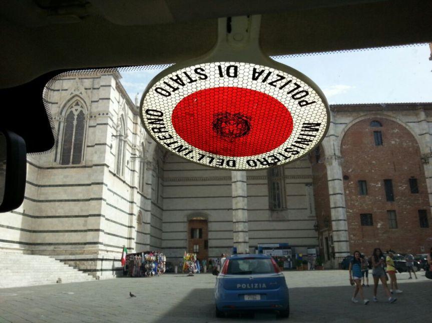 Siena: Oggi 04/07 Sanzionati la scorsa notte per ubriachezza due italiani di 28 e 29anni