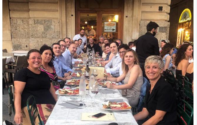 Siena: Ristorante il Bandierino offre una cena ai professionisti dell'Aou Senese impegnati nell'areaCovid