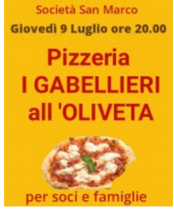 "Siena, Società San Marco: 09/07 ""I Gabellieri all'Oliveta"""