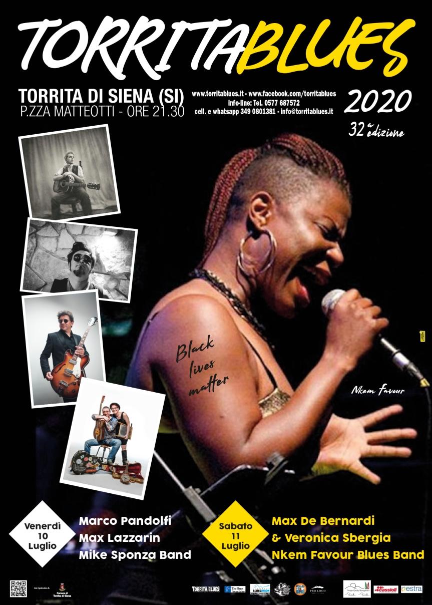 Siena, Torrita Blues Festival:  Domani venerdì 10/07  Marco Pandolfi, Max Lazzarin e MikeSponza