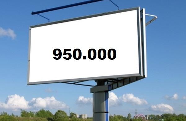 Massi Lo Sà: Nuovo Record del Blog, raggiunta quota 950.000visite!!