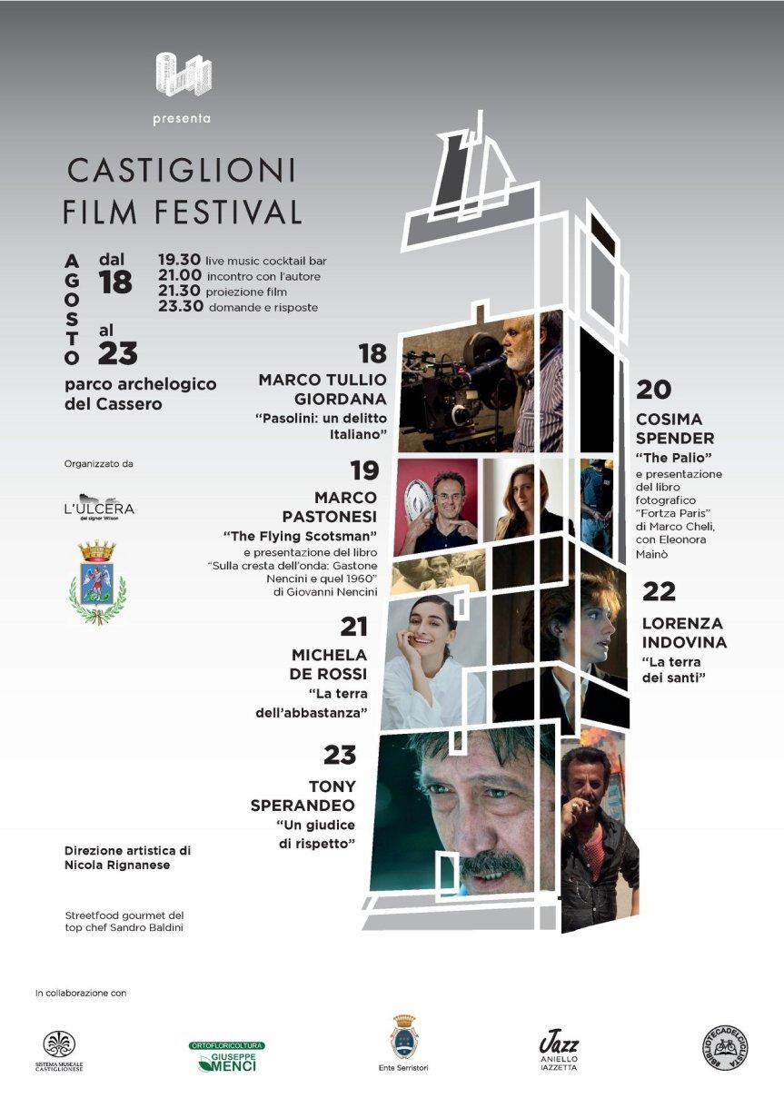 Palio di Castiglion Fiorentino: 18-23/08 Castiglioni Film Festival2020