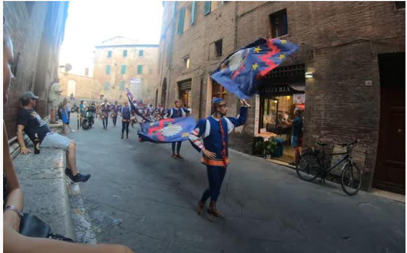 Siena, Contrada del Nicchio: August 11th 2019 – Palio di Siena – NicchioDistrict