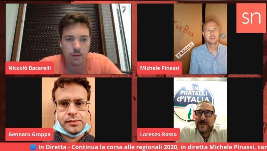 Siena, Siena News: Oggi 31/08 Diretta Live sulle Regionali, Pinassi e Rosso ospiti di Bacarelli eGroppa