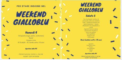 Palio di Asti, Comitato Palio Borgo Don Bosco: 04-05/09 Week EndGialloblù