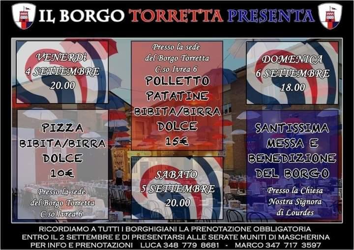 Palio di Asti, Borgo Torretta: 04-05-06/09 Week EndBiancorossublu