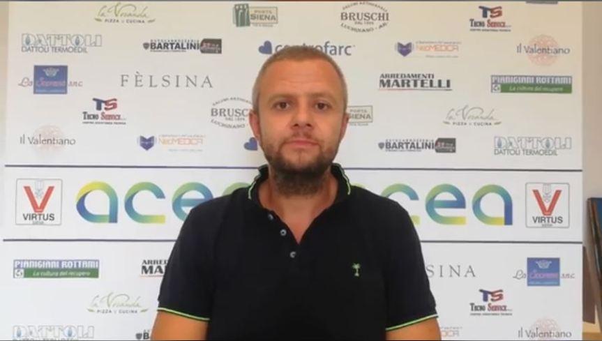 """Siena, Voltolini (Virtus): """"Finalmente si torna a parlare di basketgiocato"""""""