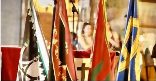 Palio di Piancastagnaio: Bandiere e tamburi in piazza per ricordare il Palio che nonc'è