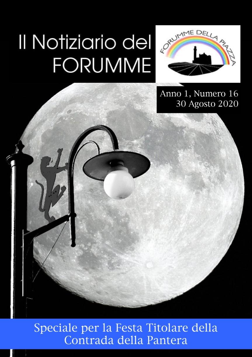 Siena, Forumme della Piazza: Uscito il diciottesimo numero del Notiziario del Forumme dedicato alla Contrada dellaPantera