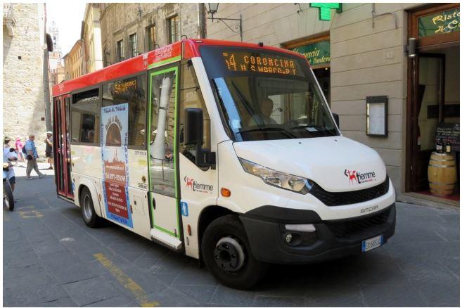 Siena: Temporanee modifiche ai bus per la chiusura di via delleSperandie