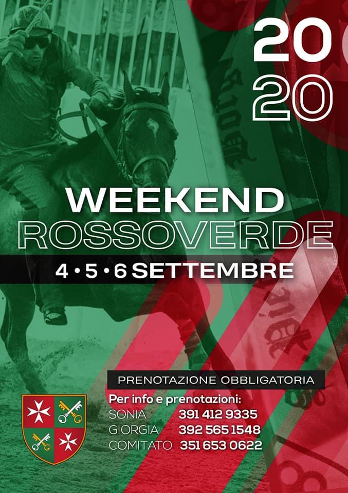 Palio di Asti, Comitato Palio Borgo San Pietro: 04-05-06/09 Week End RossoVerde2020