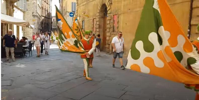 Siena, Contrada della Selva: Il giro della Contrada della Selva2019