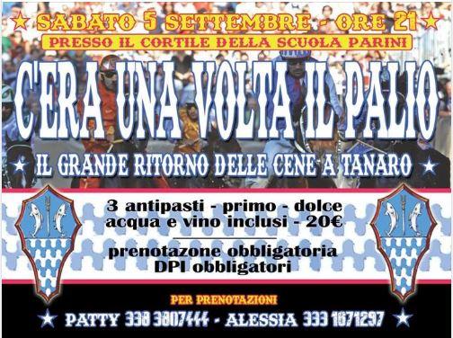 """Palio di Asti, Comitato Palio Borgo Tanaro-Trincere-Torrazzo: 05/09 """"C'era una volta ilPalio"""""""
