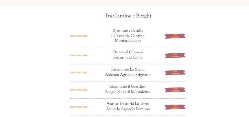 Siena e Provincia: Tra Borghi e Cantine ilRitorno