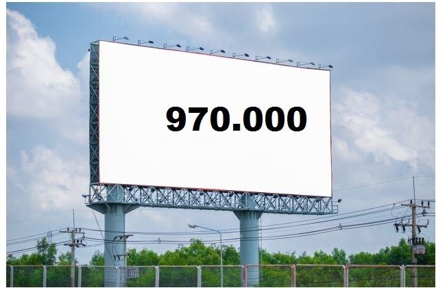 Massi Lo Sà: Nuovo Record del Blog, raggiunta quota 970.000visite!!