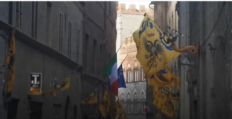 Siena: Aquila Festa Titolare2020