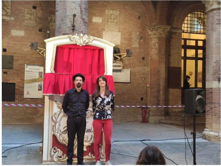 Siena:  Intervista all'assessore Clio Biondi Santi ul cartellone estivo dei Teatri diSiena