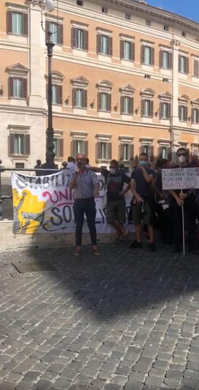 Siena: Oggi 02/09 la rappresentanza senese alla manifestazione degli insegnati  precari aRoma
