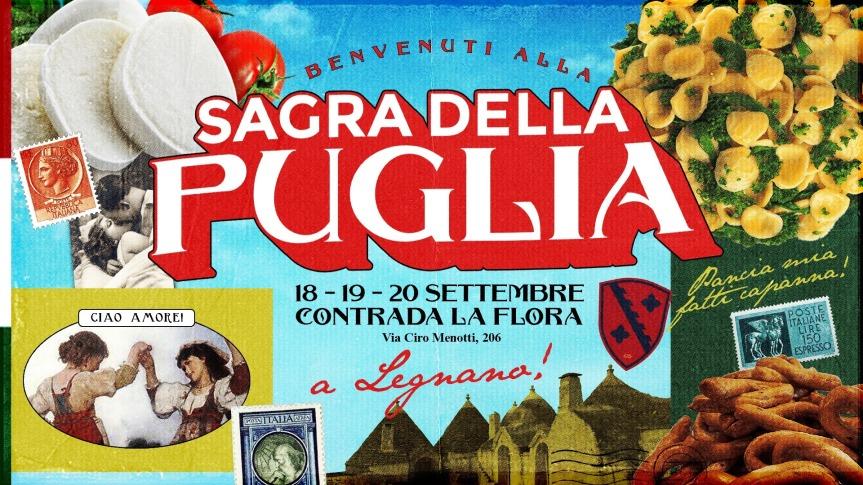 Palio di Legnano, Contrada La Flora: 18-20/09 La Sagra dellaPuglia