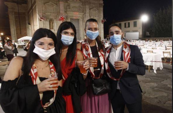Palio di Siena: Casetta, a tavola con l'Olimpo delPalio