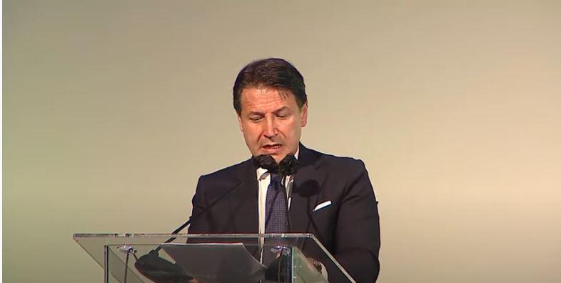 Italia: Il Presidente Conte aTrieste