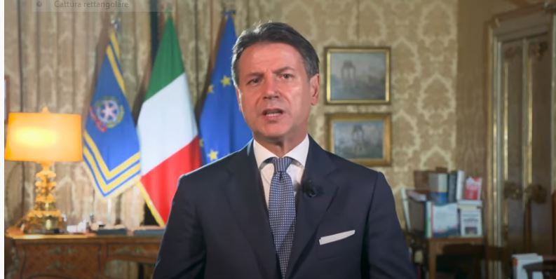 Italia: Gli impegni del Presidente Conte del 3 e 4ottobre