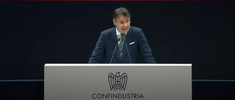 Italia: Conte all'Assemblea diConfindustria