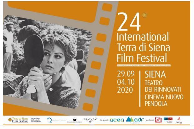 """Siena: Al via la 24°edizione del Terra di Siena Film Festival Consegna del """"Seguso Award"""" alla carriera a Claudia Gerini sabato 3 ottobre al Teatro deiRinnovati"""