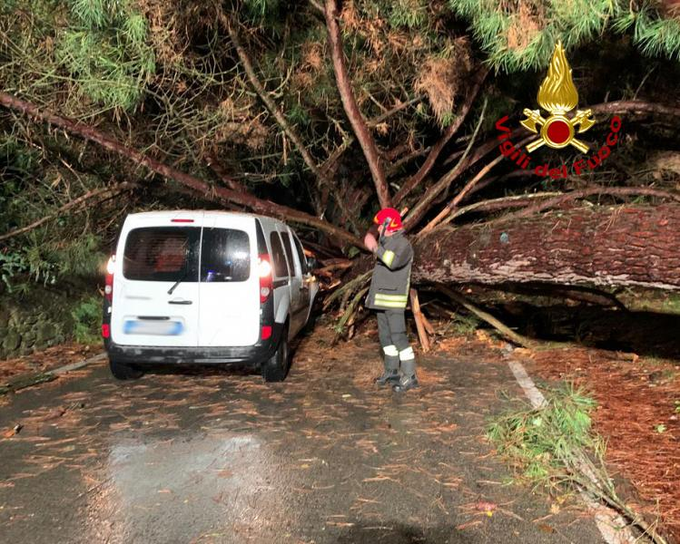 Toscana: Fulmini, vento, pioggia, notte di danni epaura