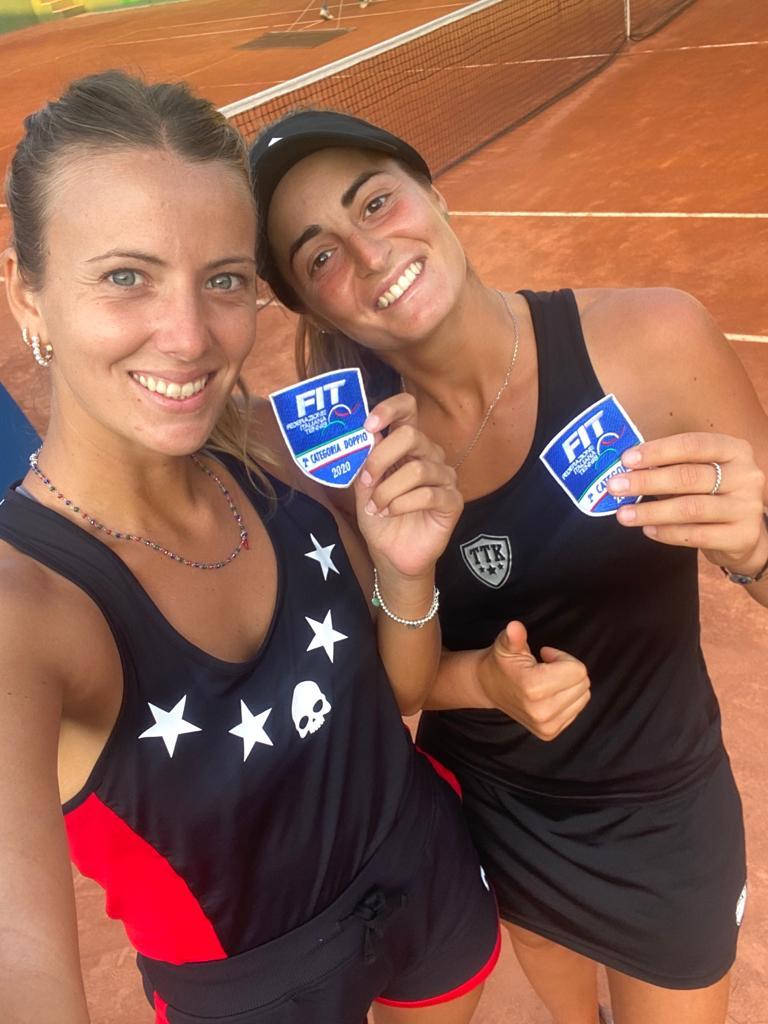 Siena, Tennis: Maria Masini campionessa italiana didoppio