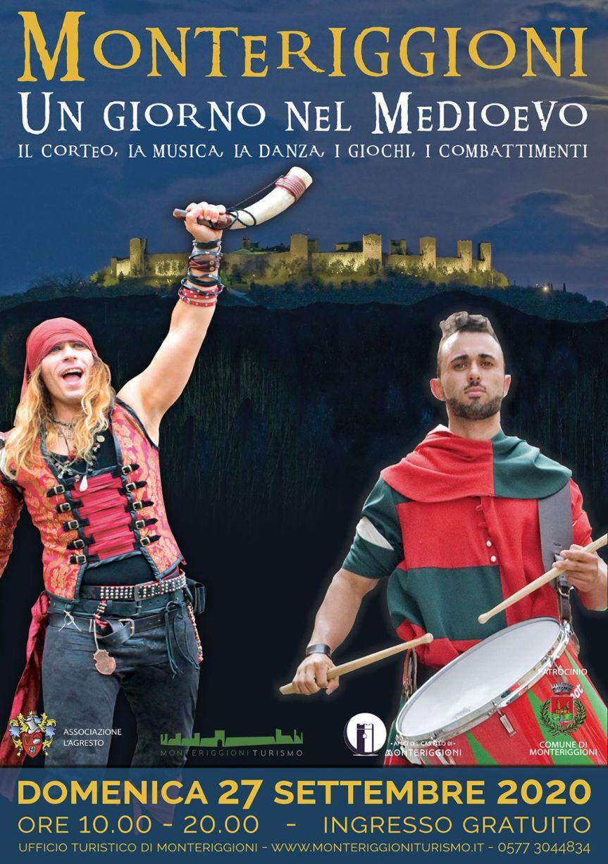 """Provincia di Siena: 27/09 A Monteriggioni domenica sarà """"Un giorno nelMedioevo"""""""