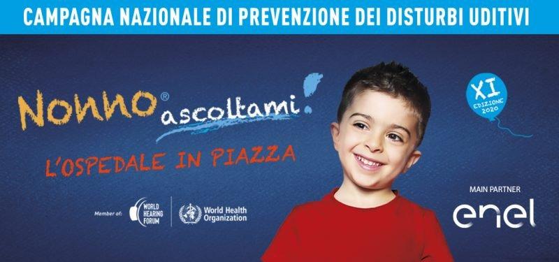"""Siena: Domenica 26/09 torna """"Nonno Ascoltami!"""", la campagna di controlli gratuitiall'udito"""